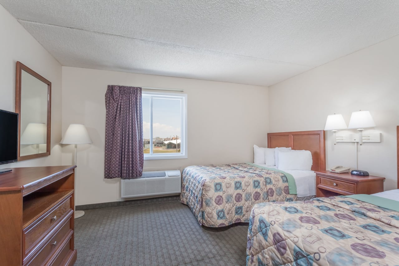 at the Days Inn & Suites Wildwood in Wildwood, New Jersey