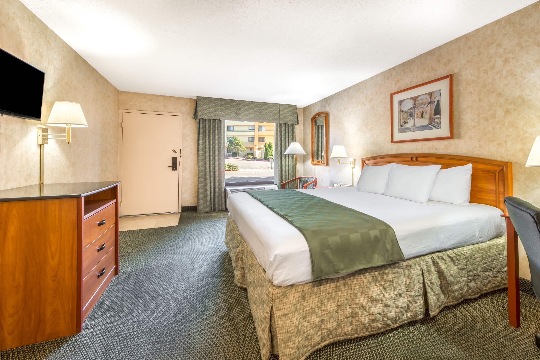 Guest room at the Days Inn & Suites Albuquerque North in Albuquerque, New Mexico