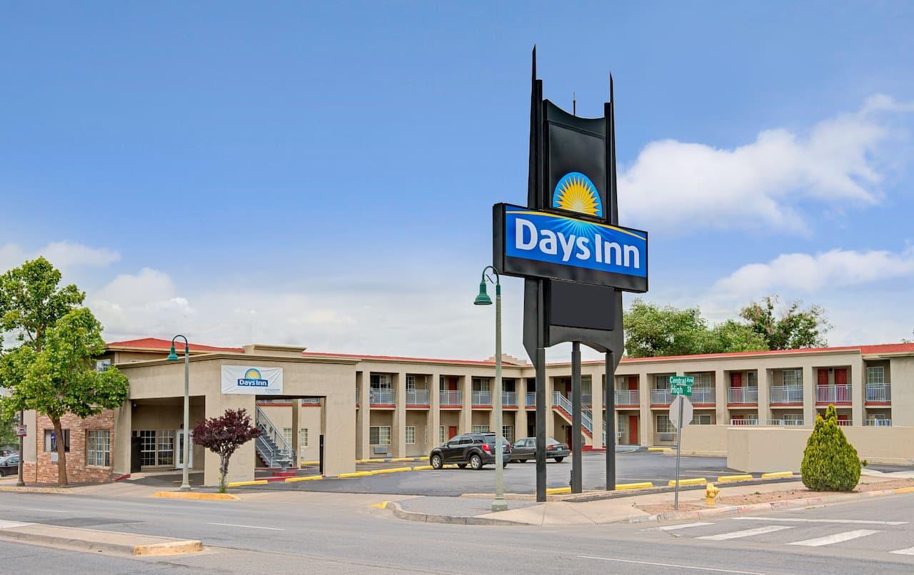 at the Days Inn Albuquerque Downtown in Albuquerque, New Mexico