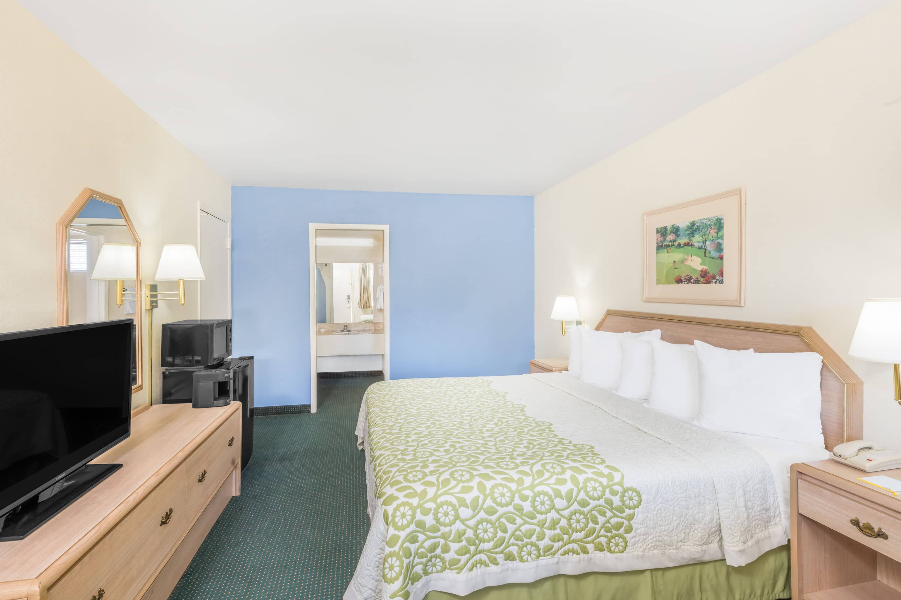 Guest room at the Days Inn Deming in Deming, New Mexico