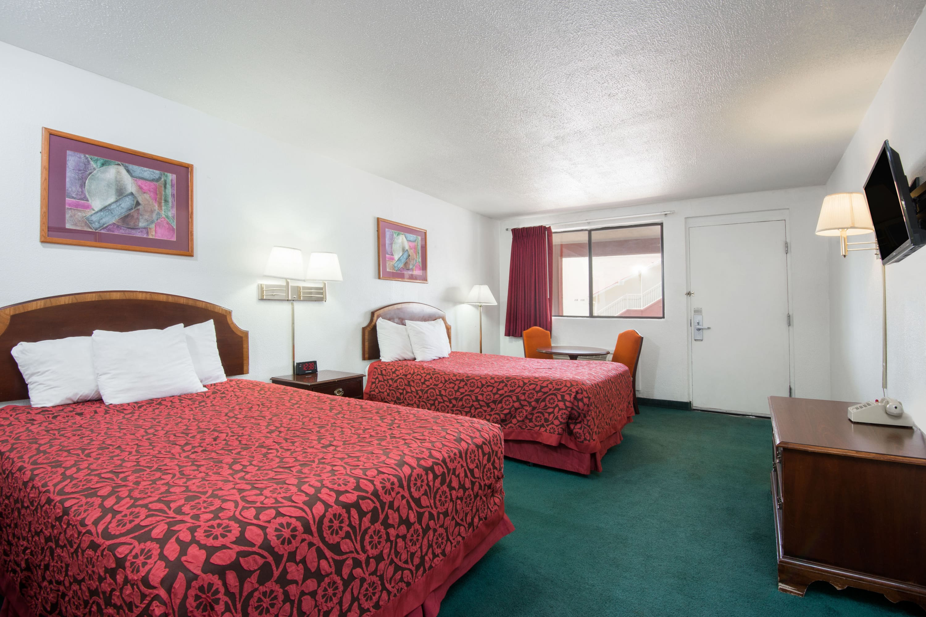Guest room at the Days Inn Gallup in Gallup, New Mexico
