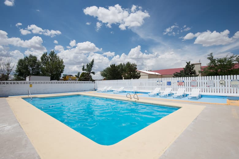 Pool at the Days Inn by Wyndham Gallup in Gallup, New Mexico