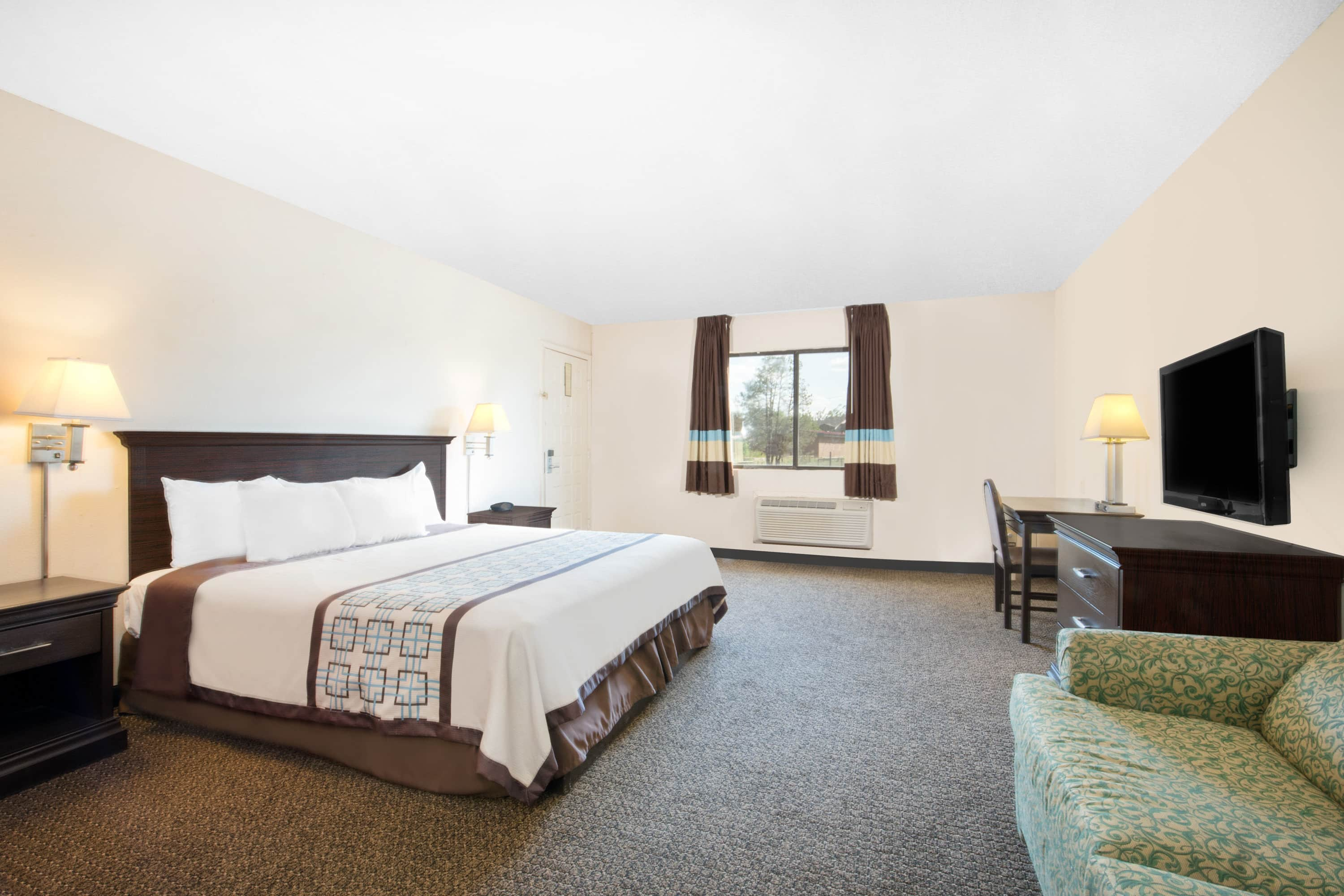 Guest room at the Days Inn Hobbs in Hobbs, New Mexico