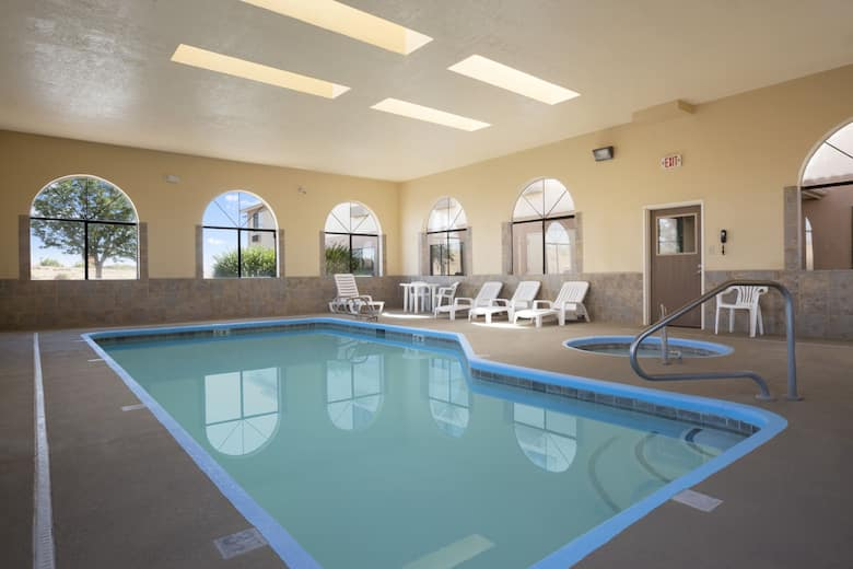 Pool At The Days Inn By Wyndham Los Lunas In New Mexico
