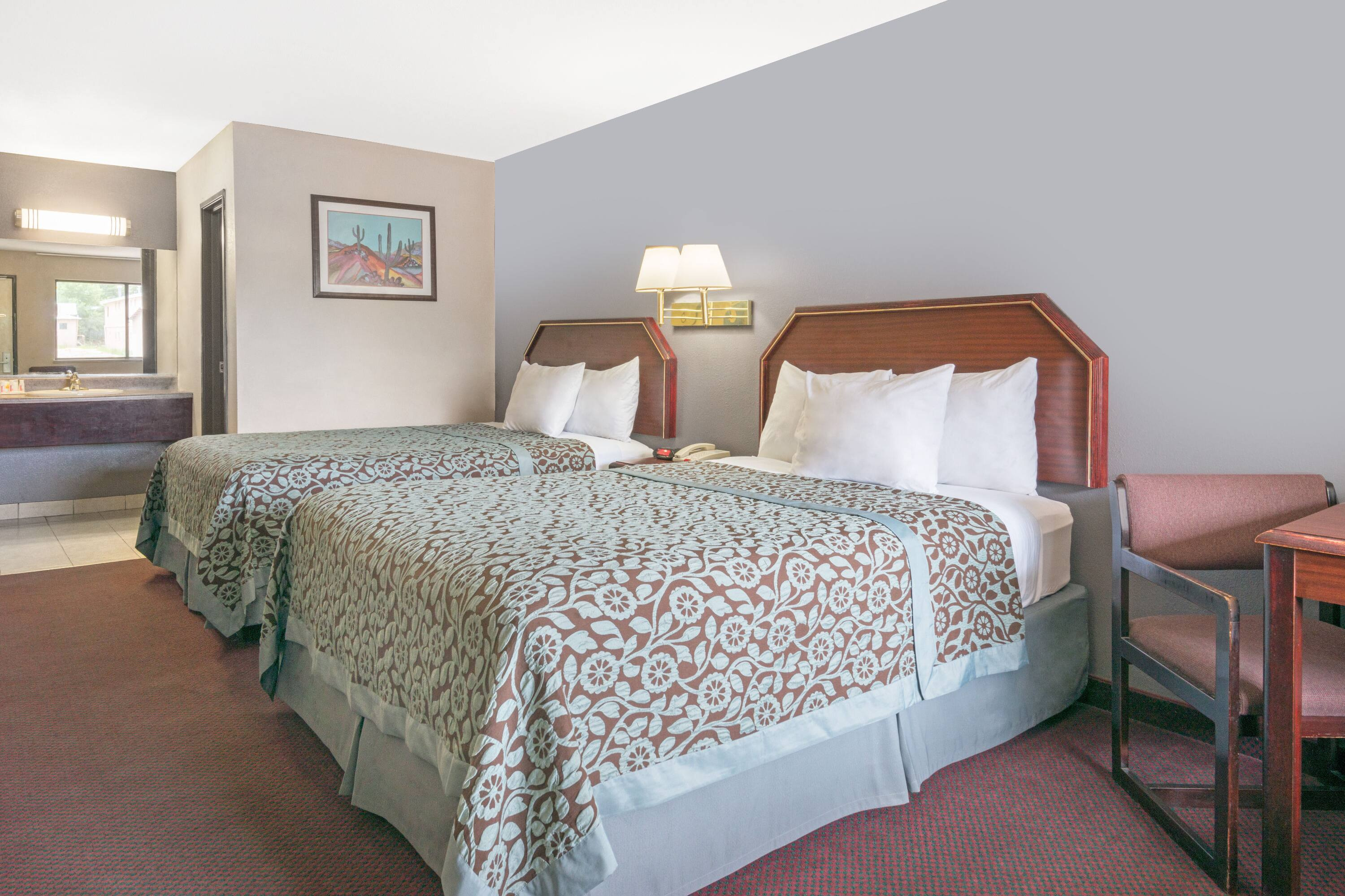 Guest room at the Days Inn Ruidoso Downs in Ruidoso Downs, New Mexico