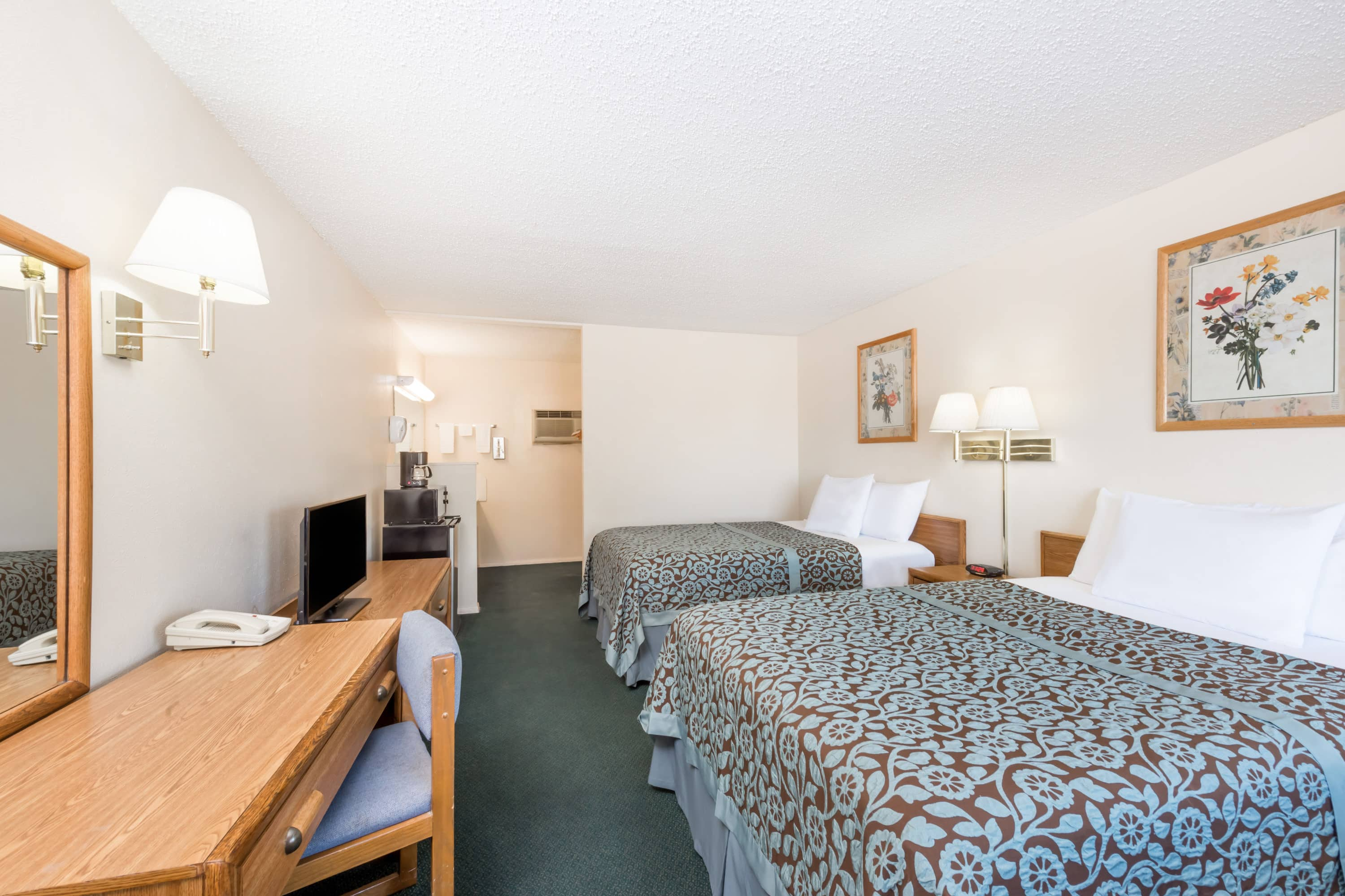 Guest room at the Days Inn Socorro in Socorro, New Mexico