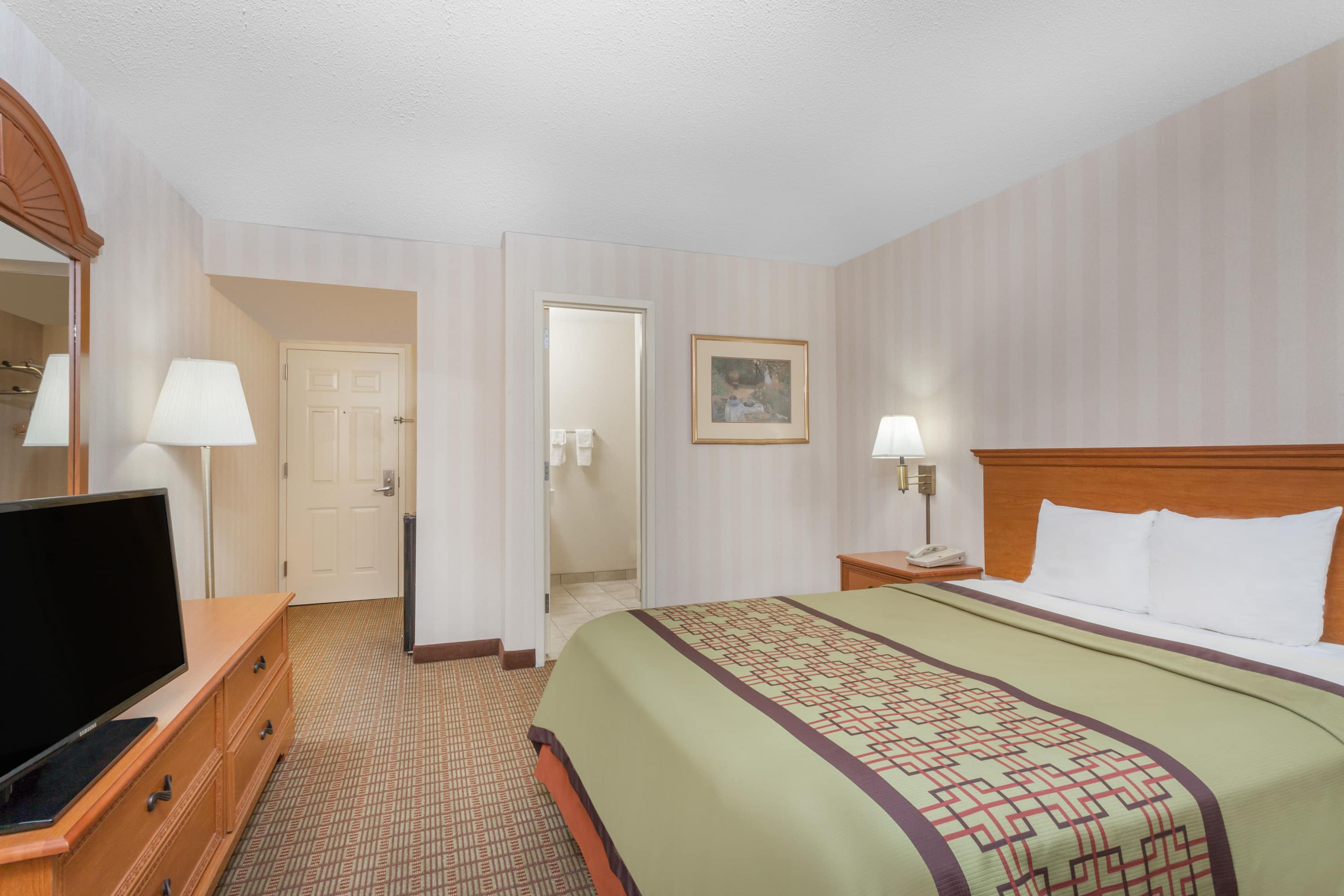 Guest room at the Days Inn Albany SUNY in Albany, New York