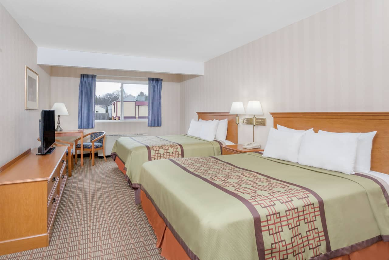 at the Days Inn Albany SUNY in Albany, New York