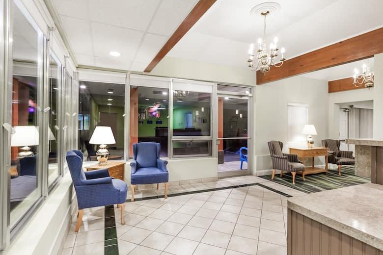 Days Inn By Wyndham Albany Suny Hotel Lobby In New York