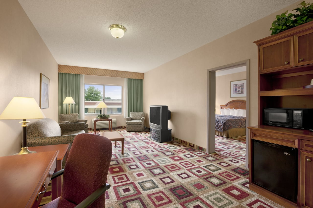 at the Days Inn & Suites Albany in Albany, New York
