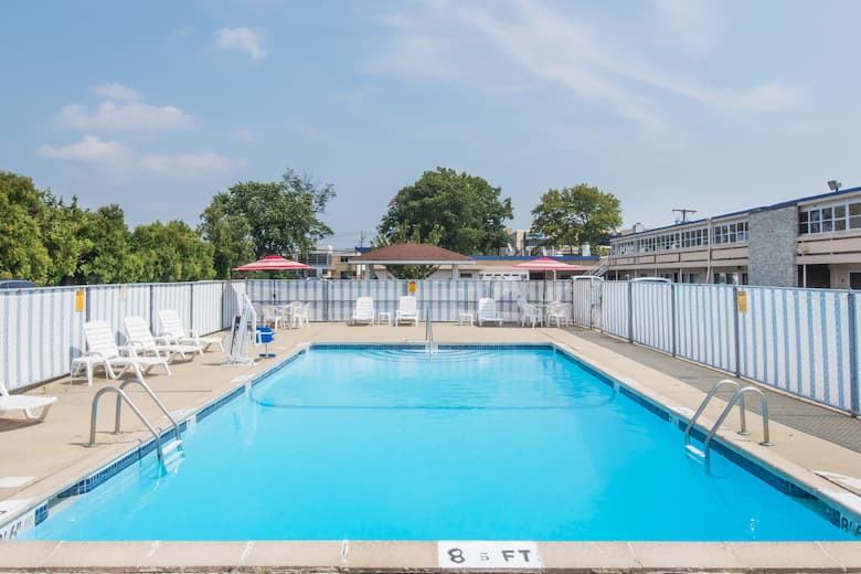 Pool At The Days Inn By Wyndham Hicksville Long Island In New York