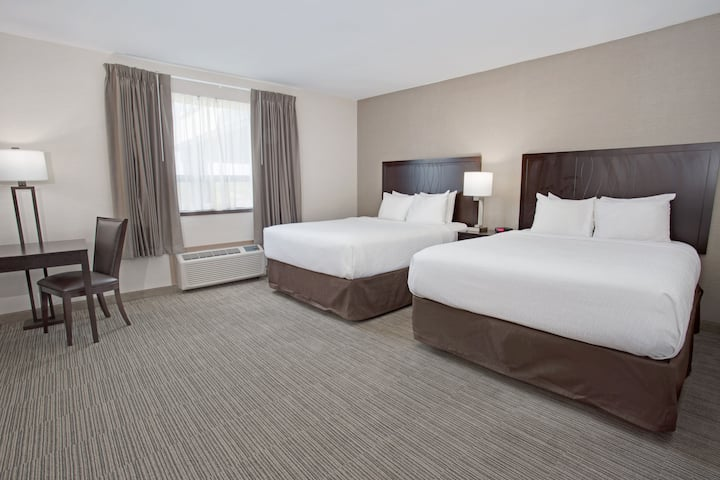 Guest room at the Days Inn Newburgh West Point/Stewart Intl Airport in New Windsor, New York