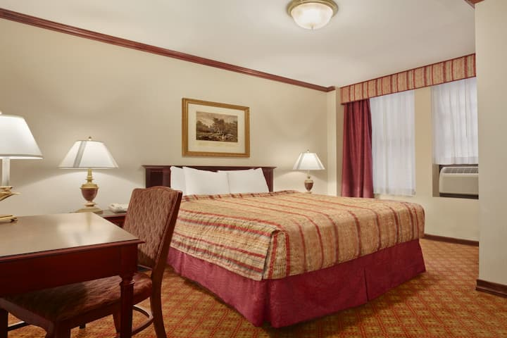 Guest room at the Days Inn Hotel New York City-Broadway in New York, New York