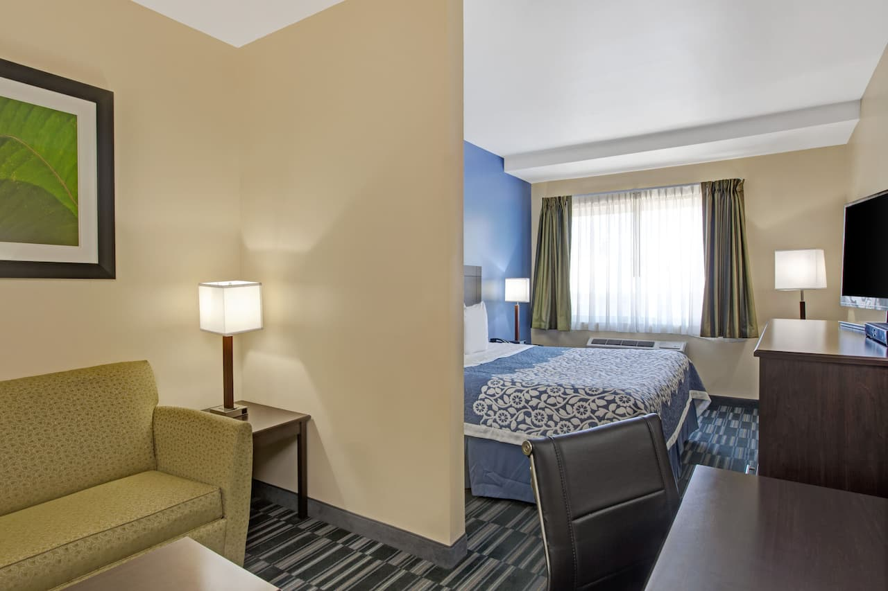 at the Days Inn & Suites Ozone Park/JFK Airport in Ozone Park, New York