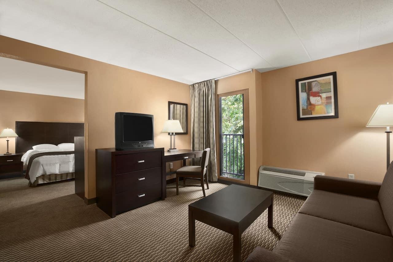 at the Days Inn & Suites Cincinnati in Cincinnati, Ohio