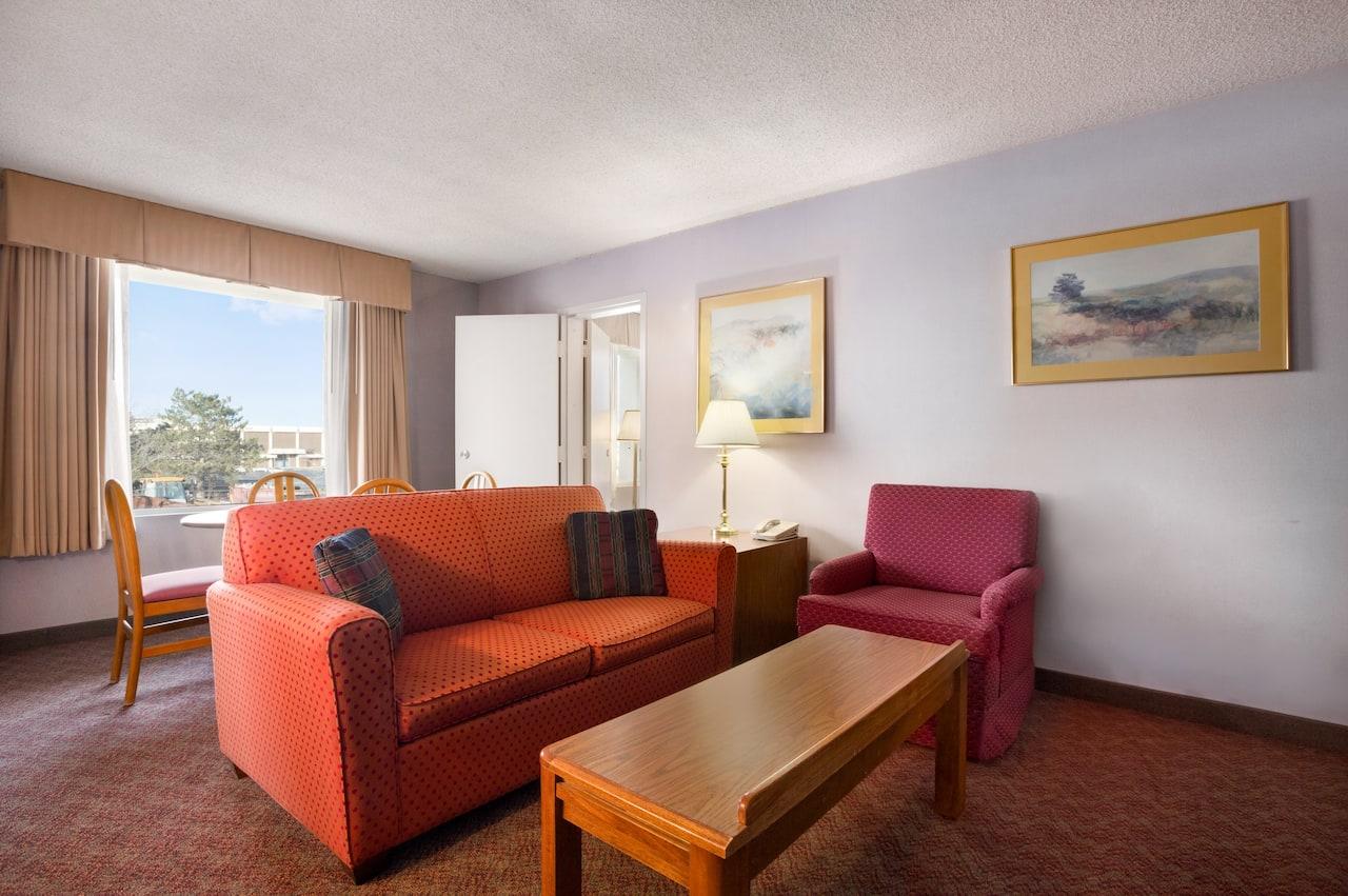at the Days Inn & Suites Elyria in Elyria, Ohio