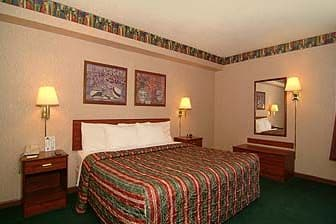Guest Room At The Days Inn By Wyndham Hillsboro In Ohio