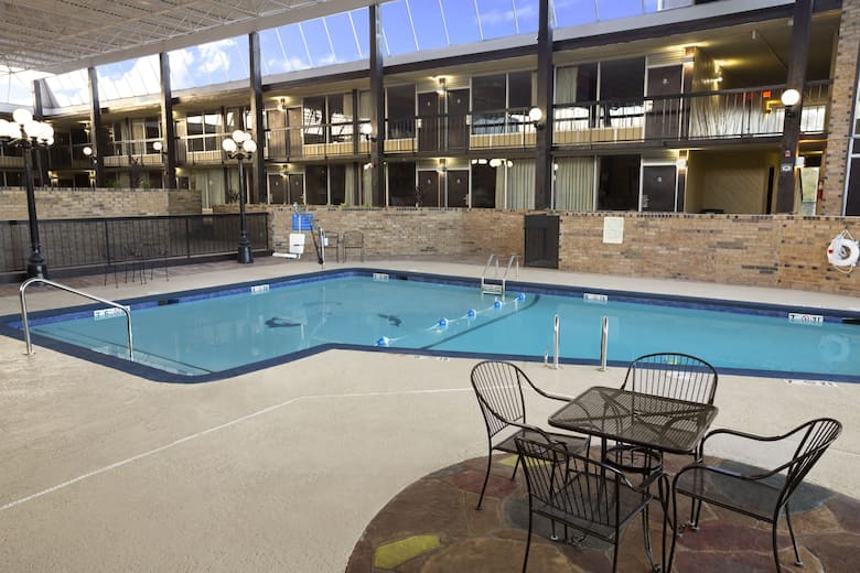 Pool At The Days Inn By Wyndham Henryetta In Oklahoma
