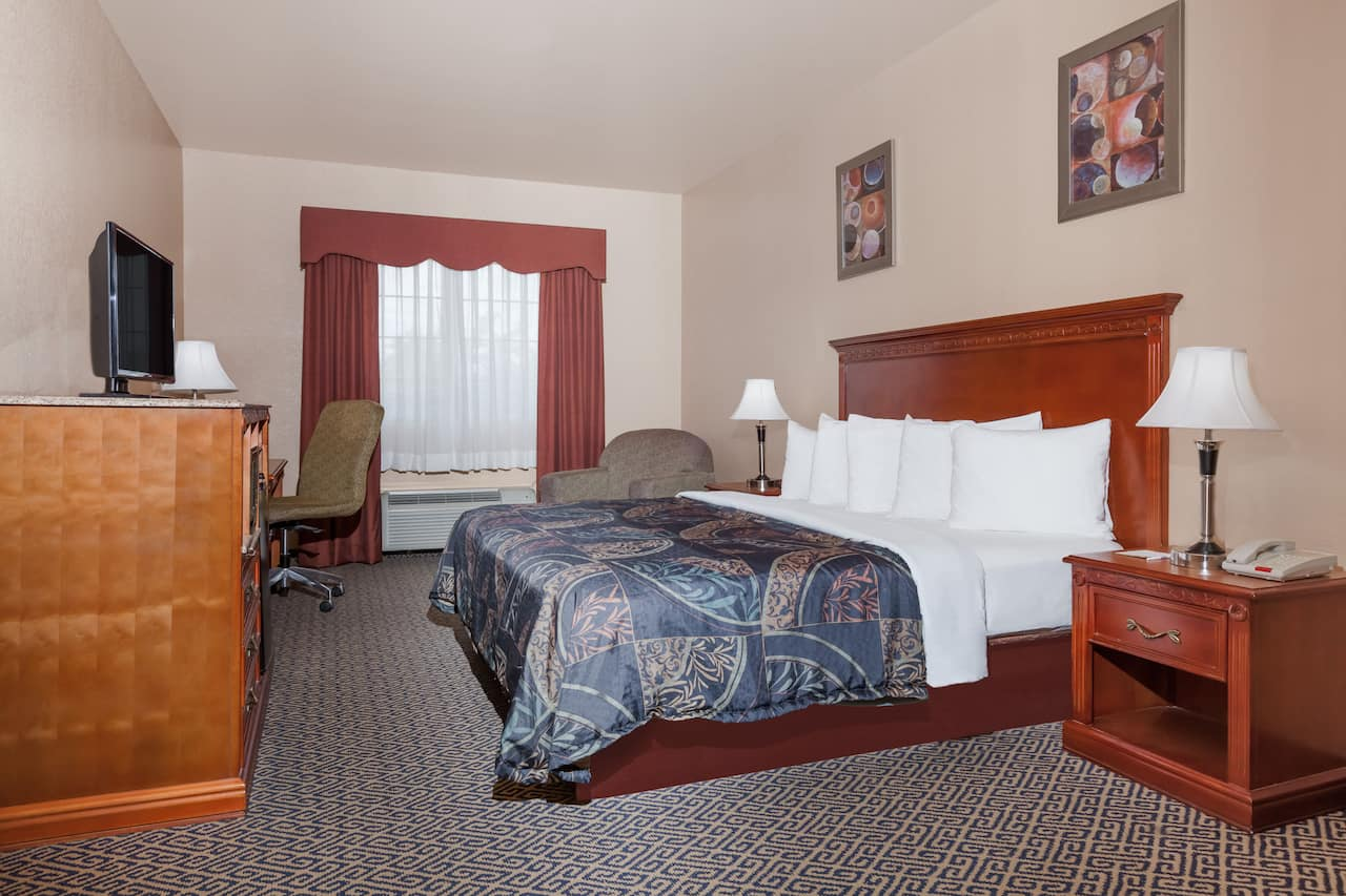 at the Days Inn & Suites McAlester in McAlester, Oklahoma