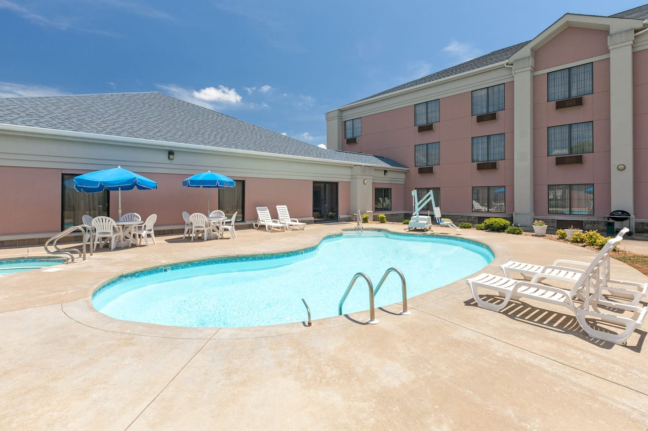 at the Days Inn & Suites Poteau in Poteau, Oklahoma