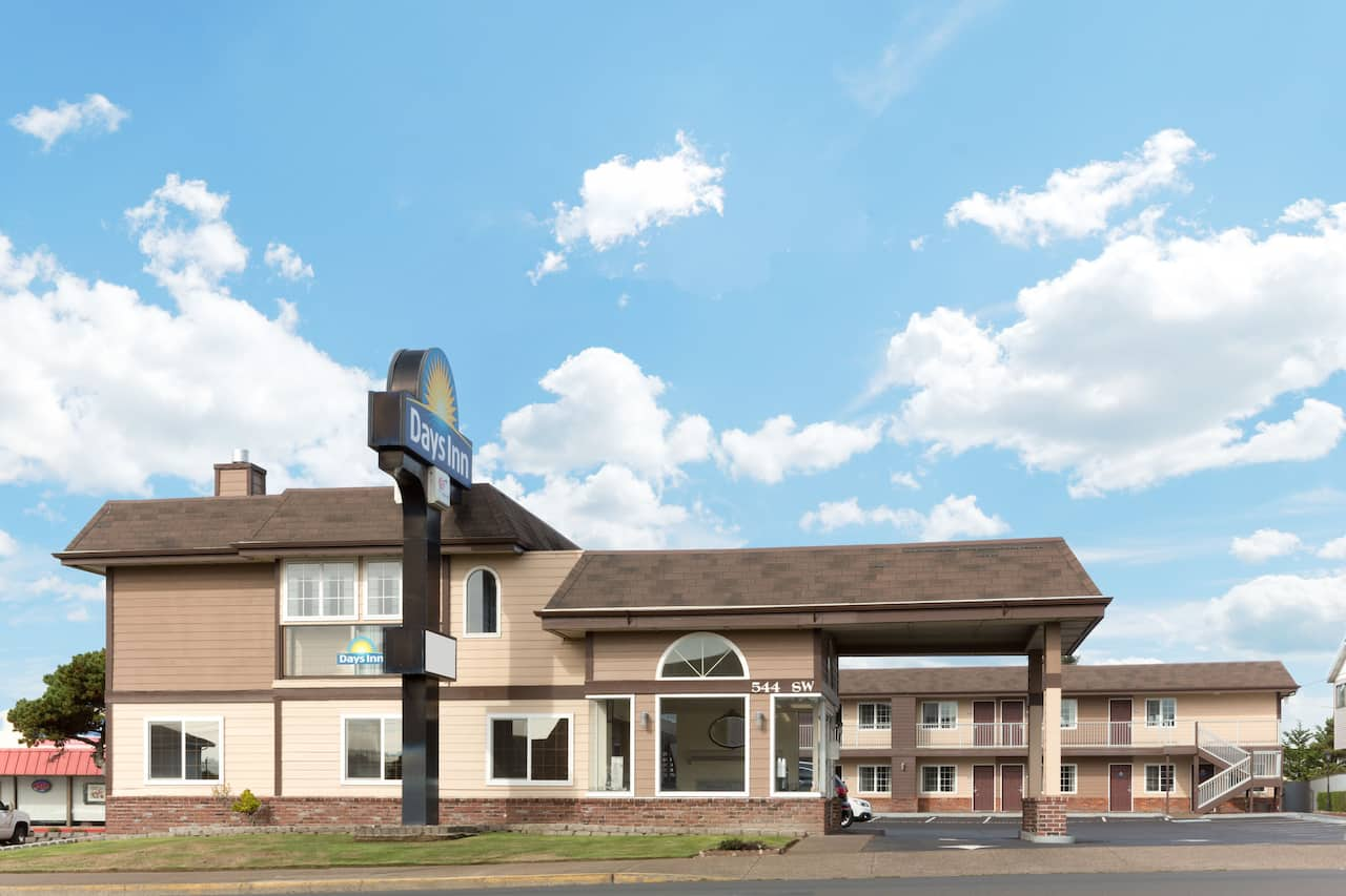at the Days Inn Newport OR in Newport, Oregon