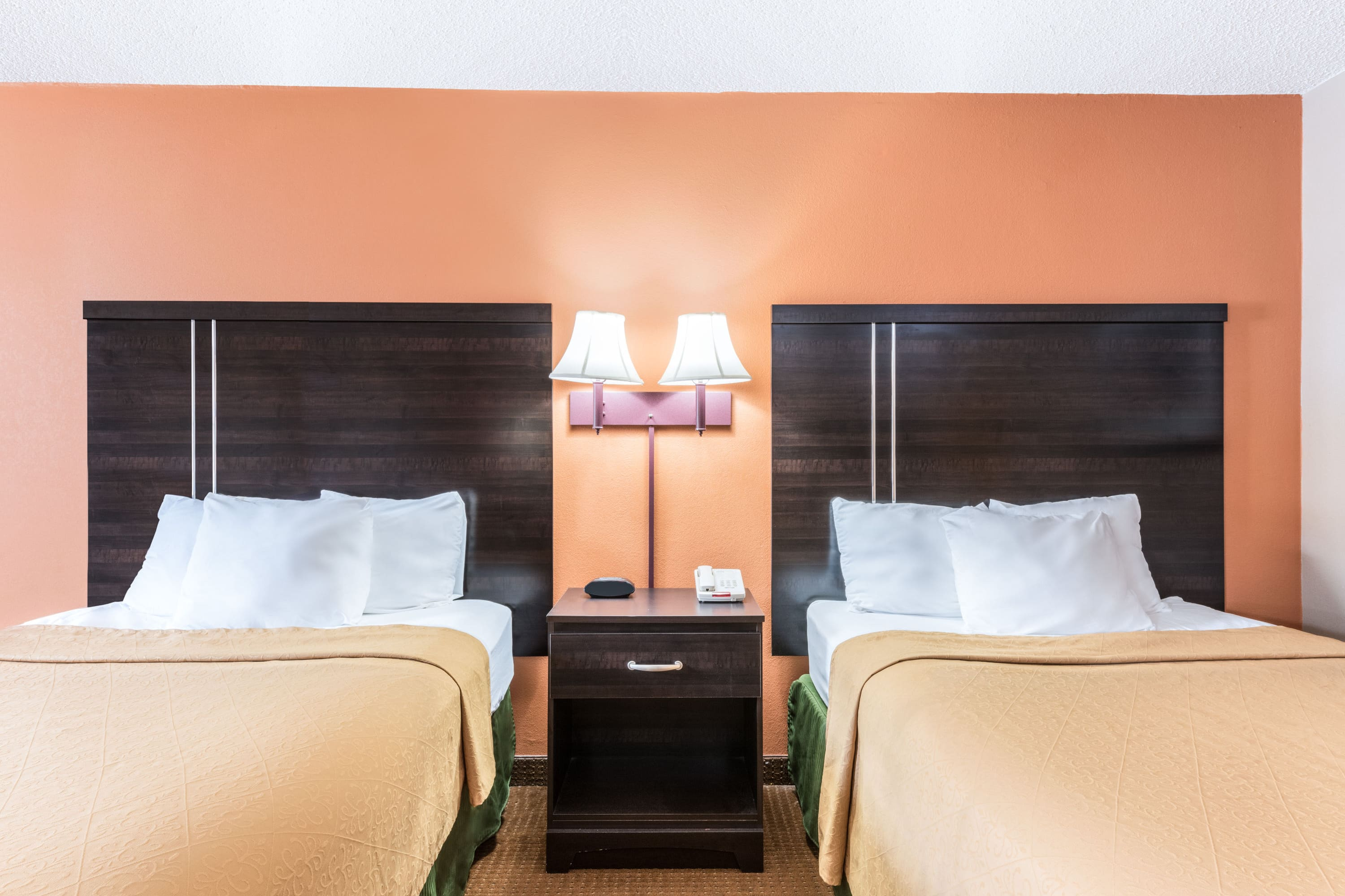 Guest room at the Days Inn & Suites Lancaster in Lancaster, Pennsylvania