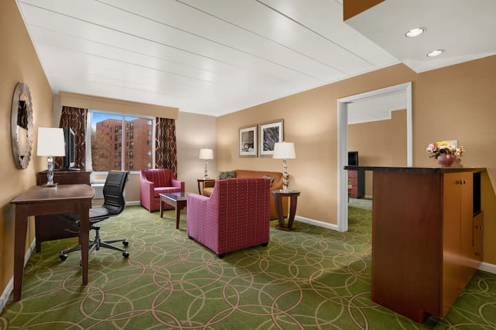 Days Inn Penn State suite in State College, Pennsylvania