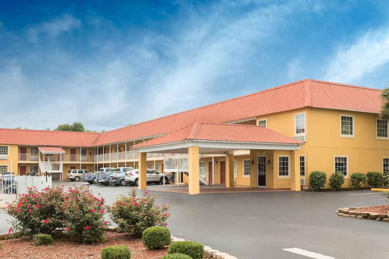 at the Days Inn Barnwell in Barnwell, South Carolina