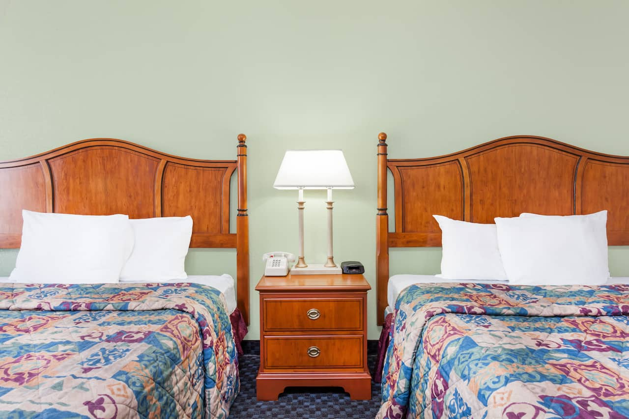 at the Days Inn & Suites SE Columbia Ft Jackson in Columbia, South Carolina