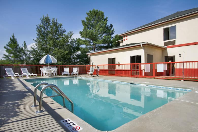 Pool At The Days Inn By Wyndham Mauldin Greenville In South Carolina