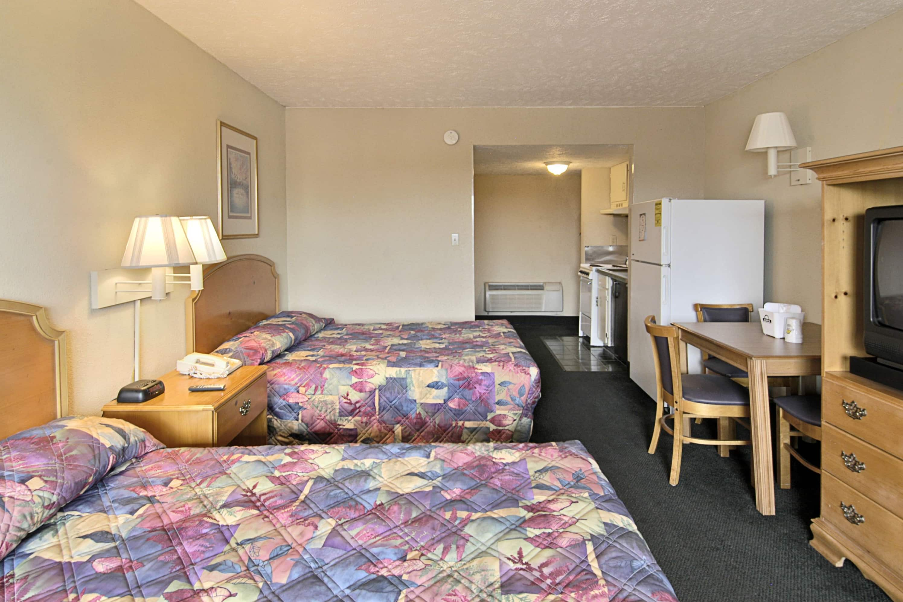 Guest room at the Days Inn Myrtle Beach-Grand Strand in Myrtle Beach, South Carolina