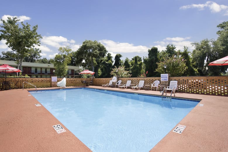Pool At The Days Inn By Wyndham Port Royal Near Parris Island In