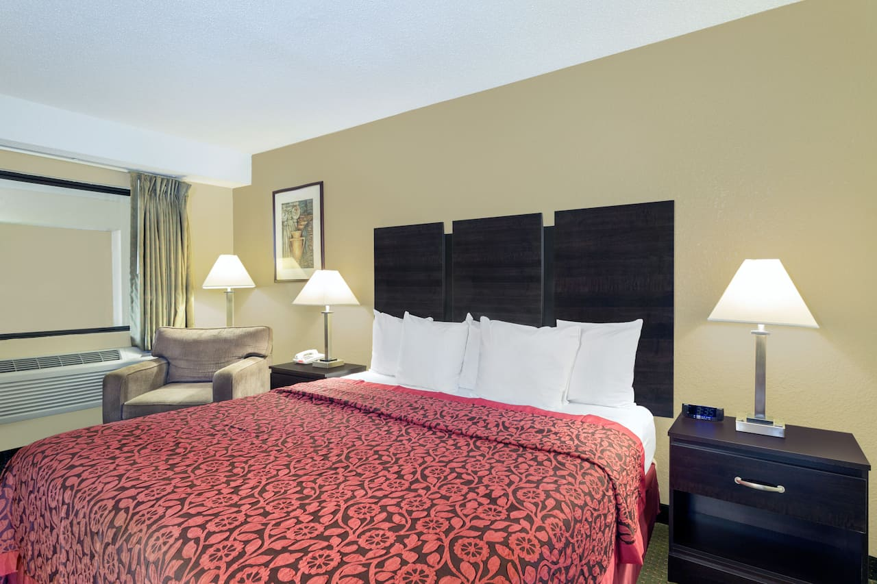 at the Days Inn & Suites Columbia Airport in West Columbia, South Carolina