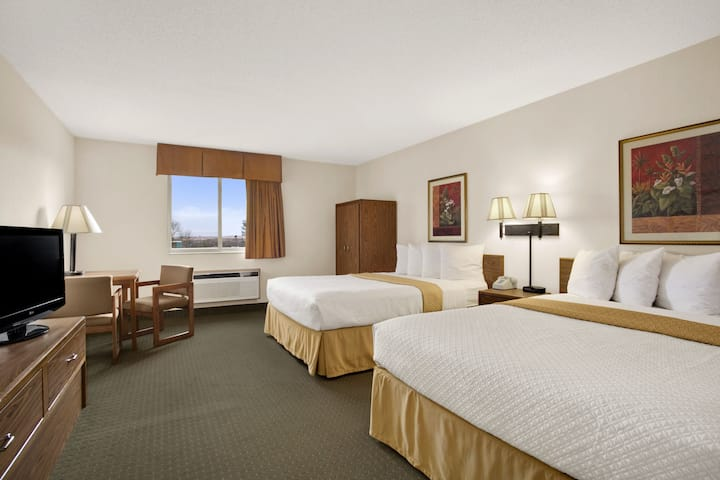 Guest room at the Days Inn Rapid City in Rapid City, South Dakota