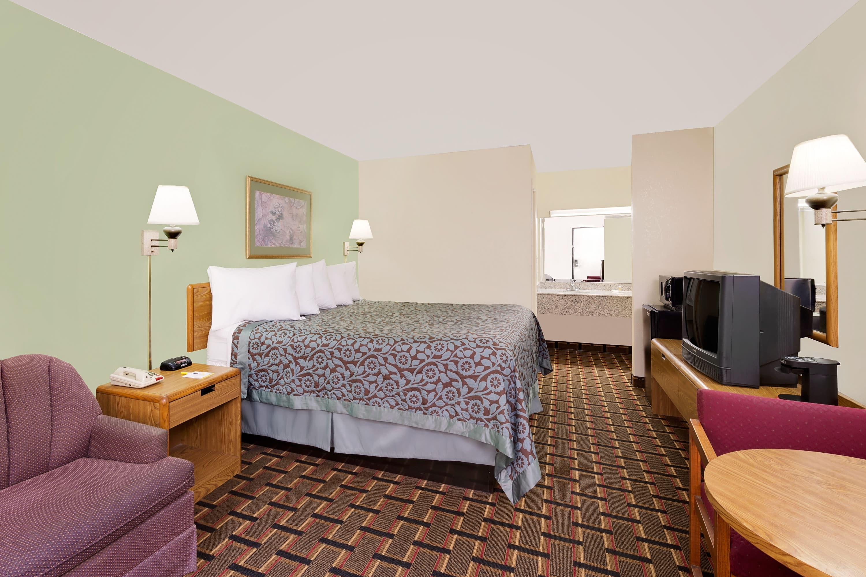 Guest room at the Days Inn Cleveland TN in Cleveland, Tennessee