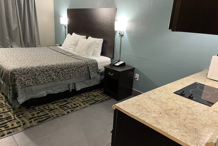 Guest room at the Days Inn & Suites Collierville Germantown Area in Collierville, Tennessee