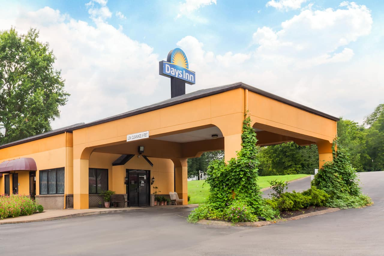 at the Days Inn Columbia in Columbia, Tennessee