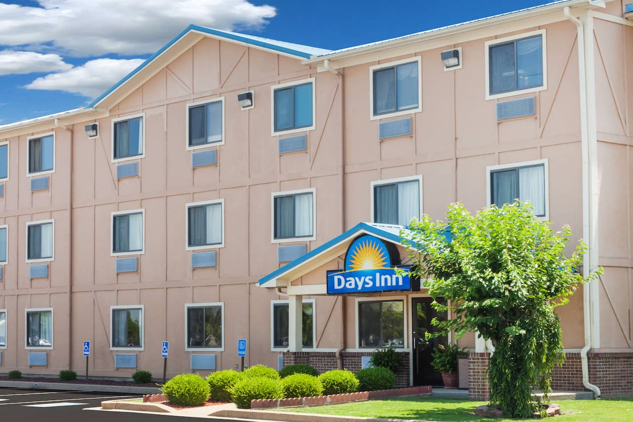 at the Days Inn Dyersburg in Dyersburg, Tennessee