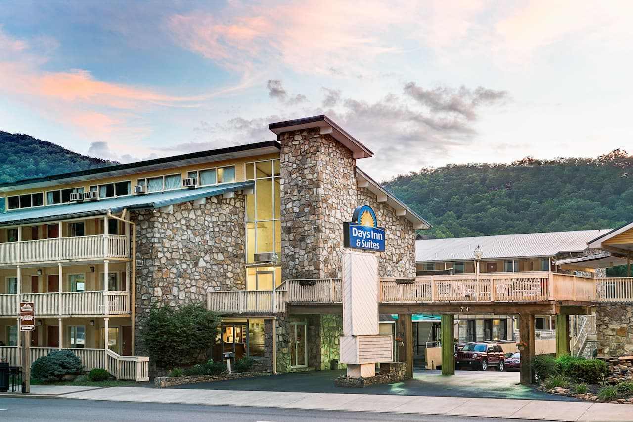 at the Days Inn & Suites Downtown Gatlinburg Parkway in Gatlinburg, Tennessee