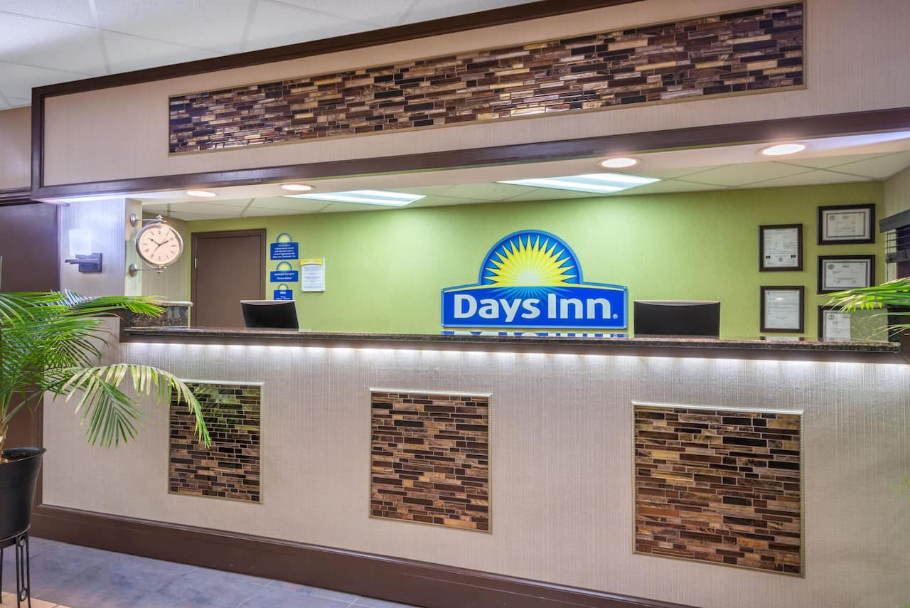 at the Days Inn Knoxville East in Knoxville, Tennessee