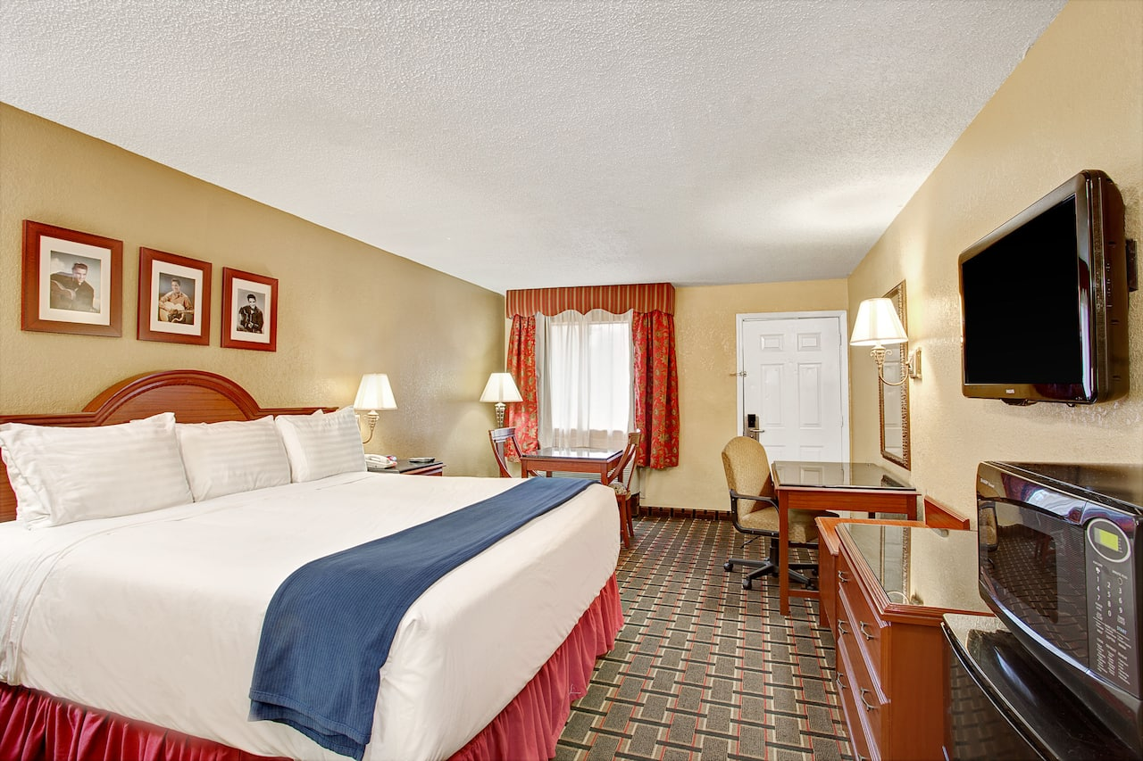at the Days Inn Memphis at Graceland in Memphis, Tennessee