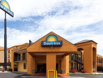 at the Days Inn Memphis - I40 and Sycamore View in Memphis, Tennessee