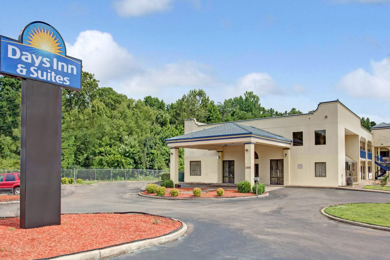 at the Days Inn & Suites Memphis East in Memphis, Tennessee