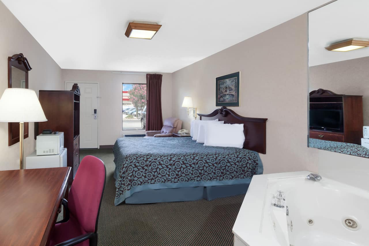 at the Days Inn Morristown in Morristown, Tennessee