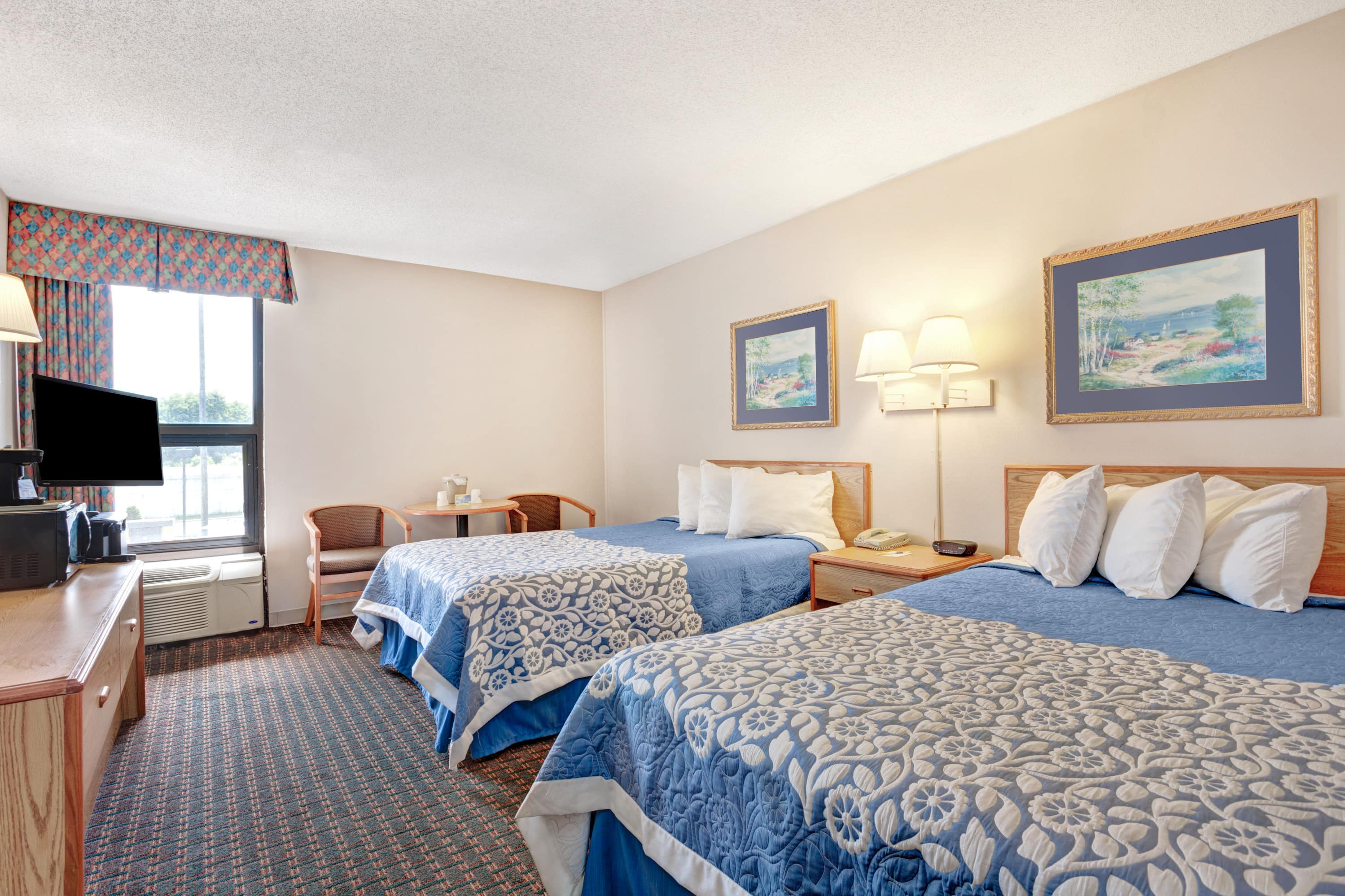 Guest room at the Days Inn Nashville At Opryland/Music Valley Dr in Nashville, Tennessee