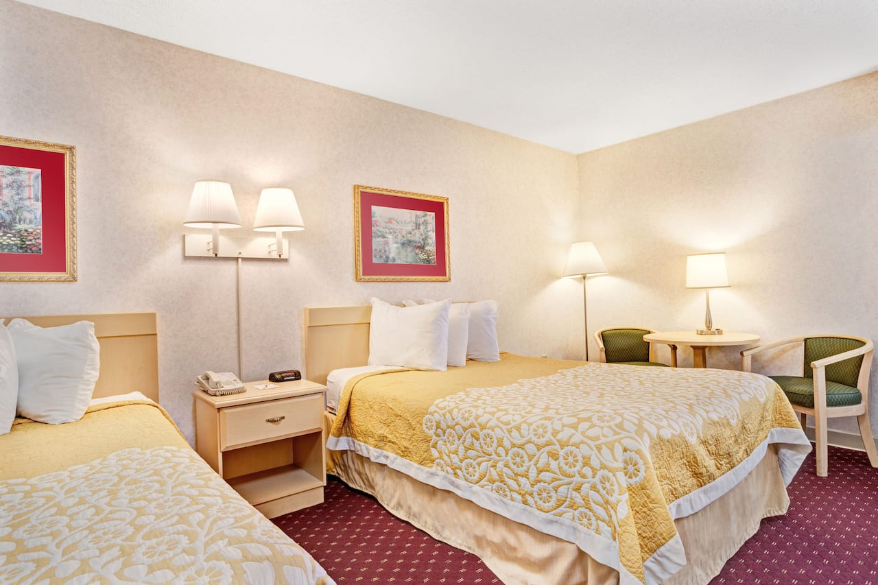 at the Days Inn Nashville At Opryland/Music Valley Dr in Nashville, Tennessee