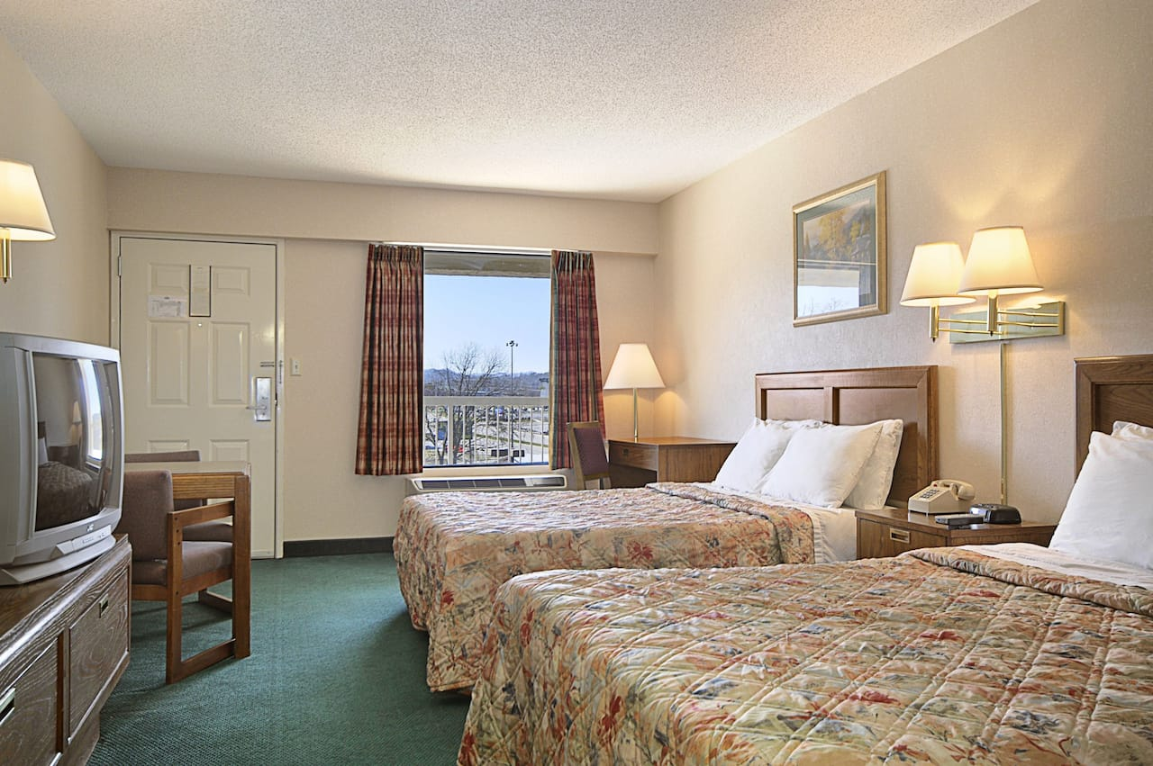 at the Days Inn Apple Valley Sevierville in Sevierville, Tennessee