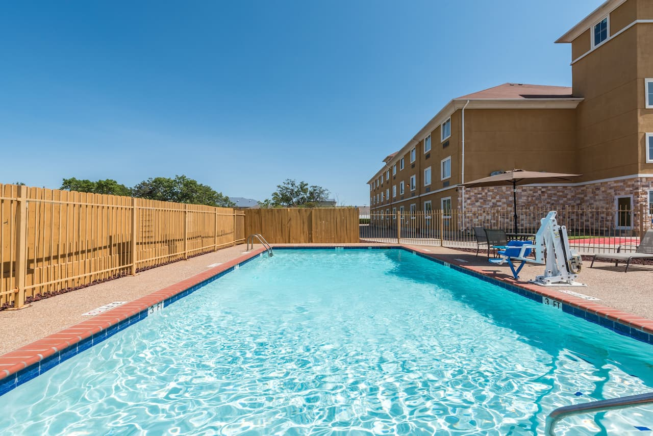 at the Days Inn & Suites Cleburne TX in Cleburne, Texas