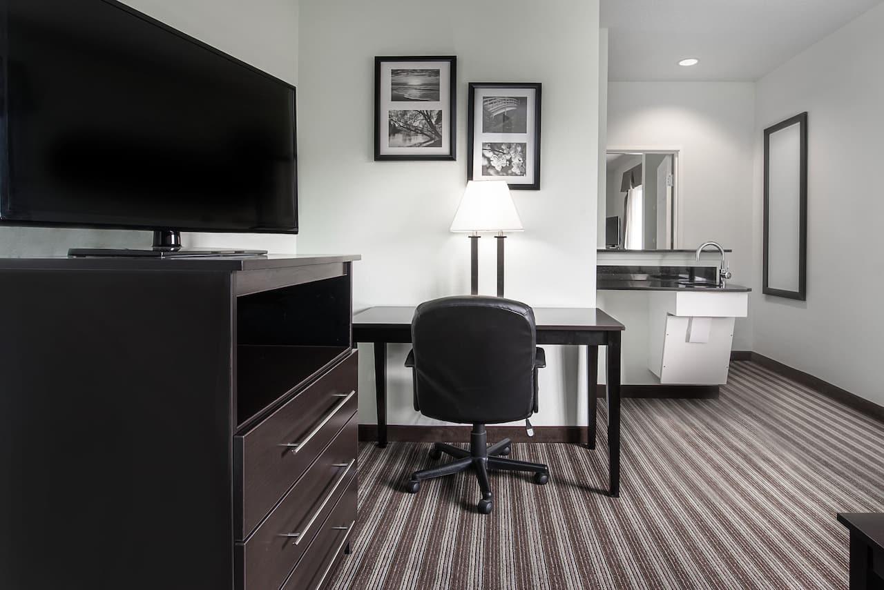 at the Days Inn & Suites Dallas in Dallas, Texas