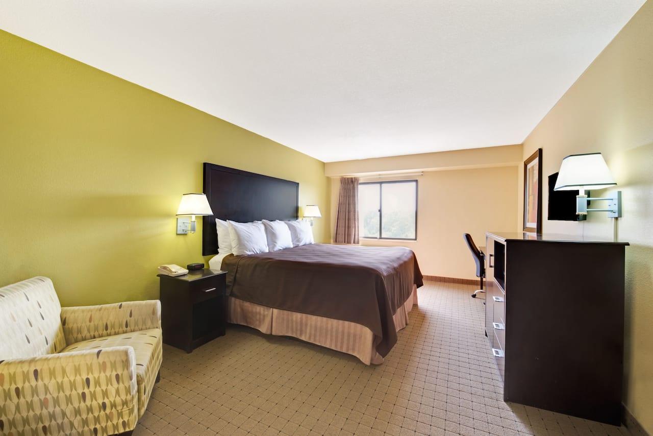 at the Days Inn & Suites DeSoto in DeSoto, Texas